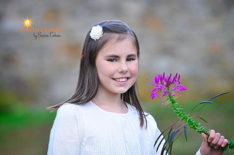 pretty as a flower