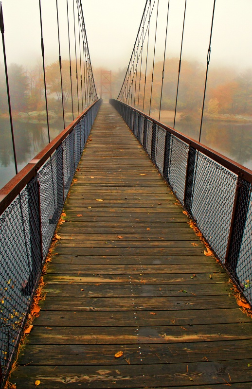 Androscoggin Swinging Bridge