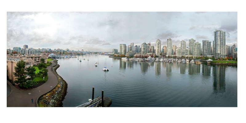 View from Cambie Street Bridge