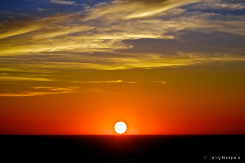 Cabo San Lucas, Mexico  Sunset
