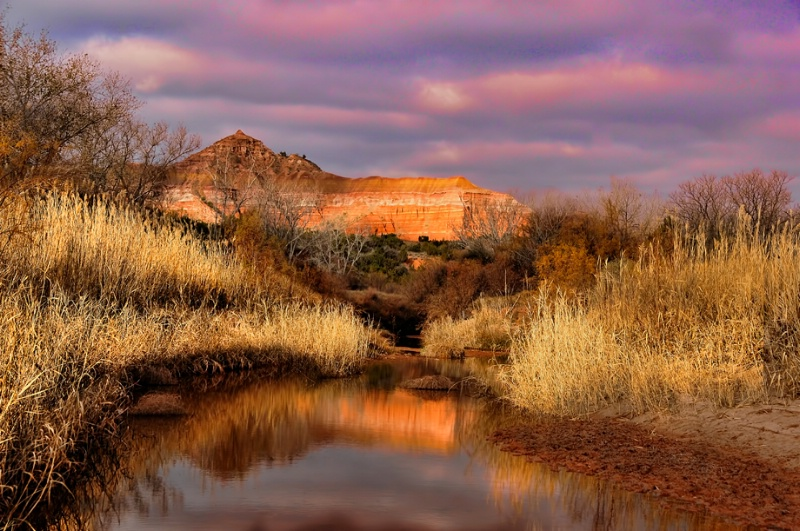 Morning in Palo Duro Canyon