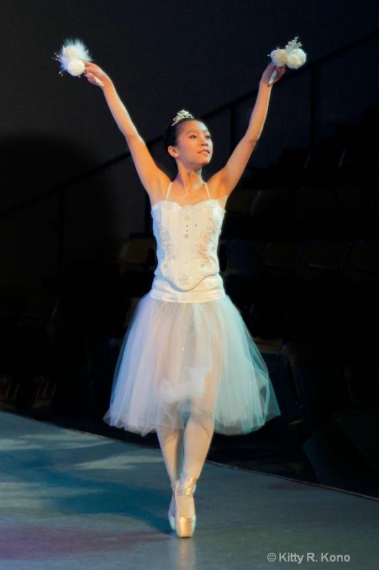 Yumiko Dancing in the Nutcracker