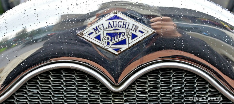 McLaughlin Buick in the rain
