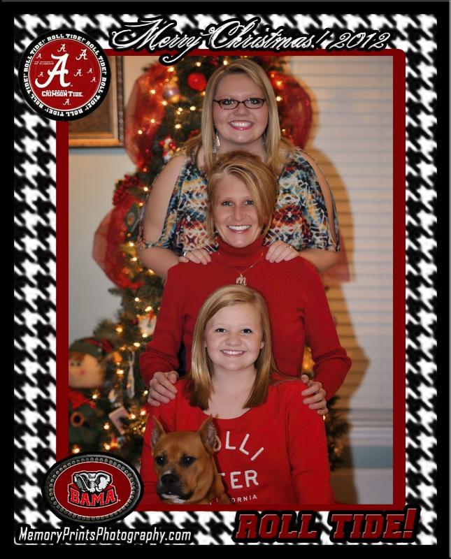 Roll Tide Alabama Christmas 2012
