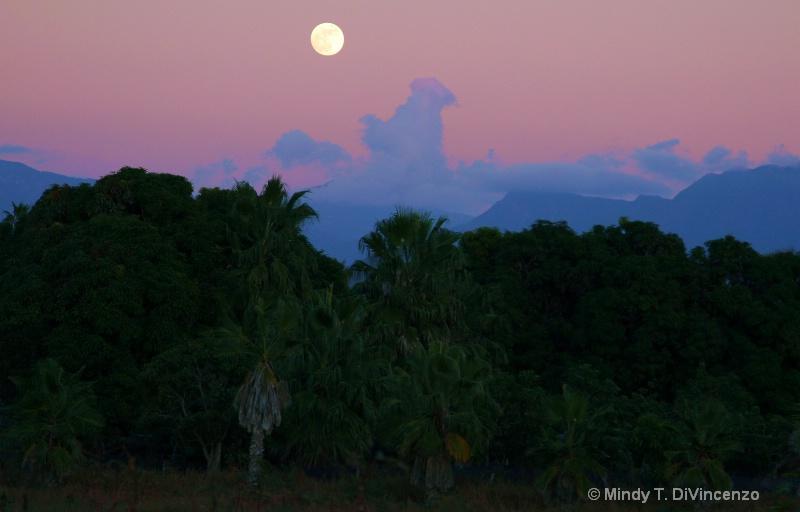 Full Moon Over Pescadero