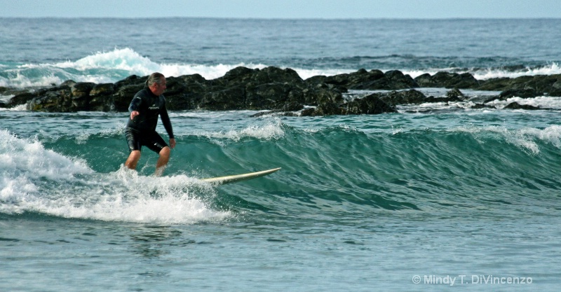 JD surfs Baja