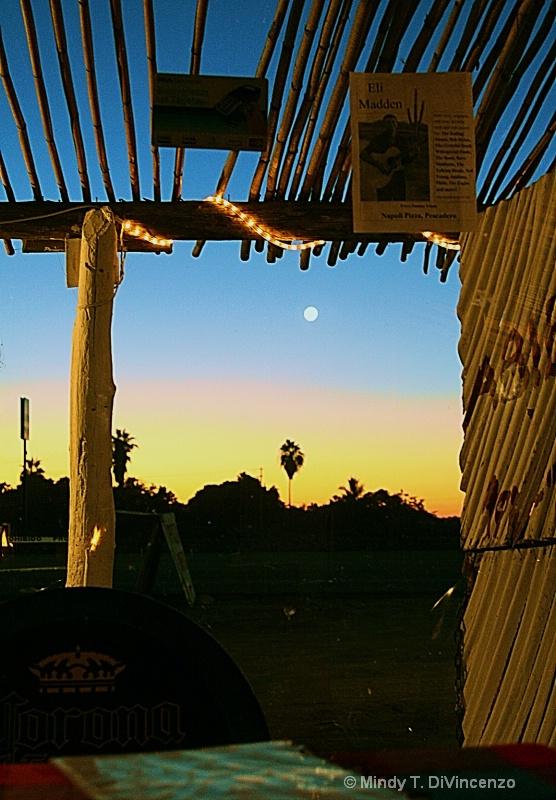 Full Moon Reflections in El Pescadero