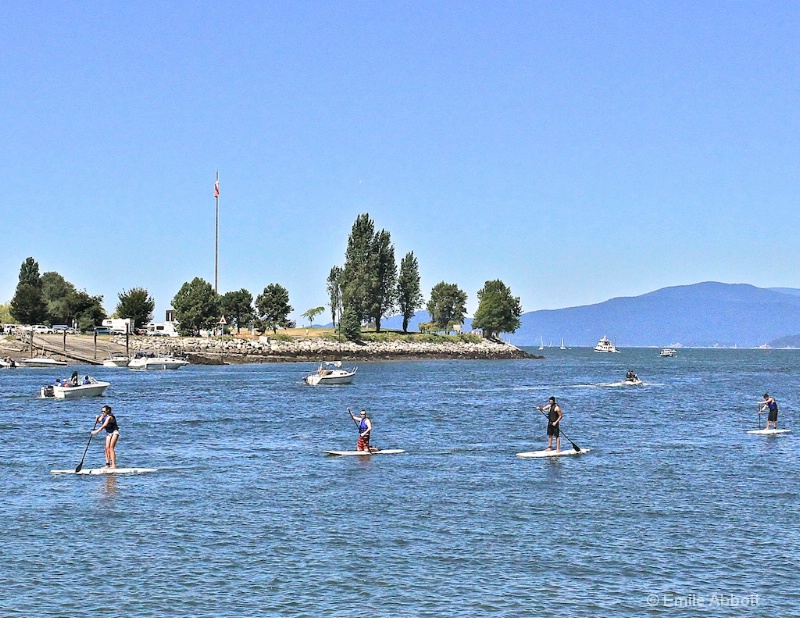 Paddle Boarding in Vancouver