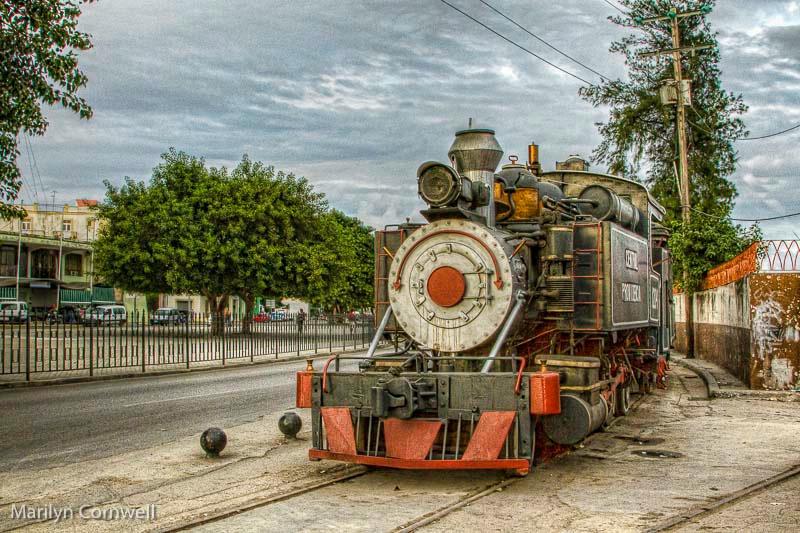 Steam Train in Havana