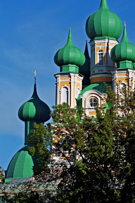 Domes of St Petersburg