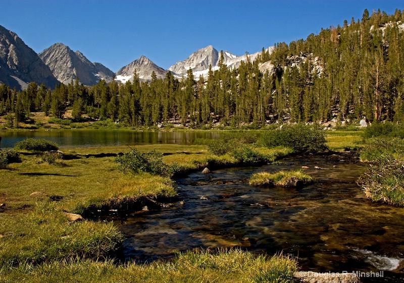 Creek into Heart Lake