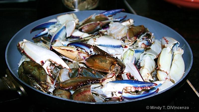 Blue Crab Skillet