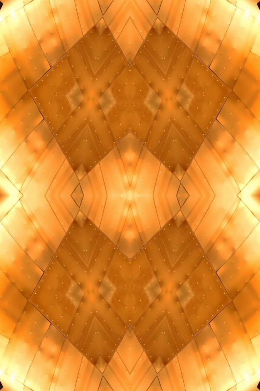 Golden Abstract #3