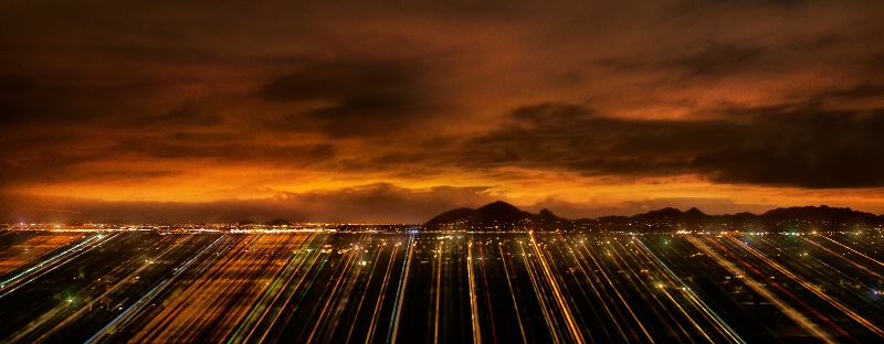 Scottsdale night light