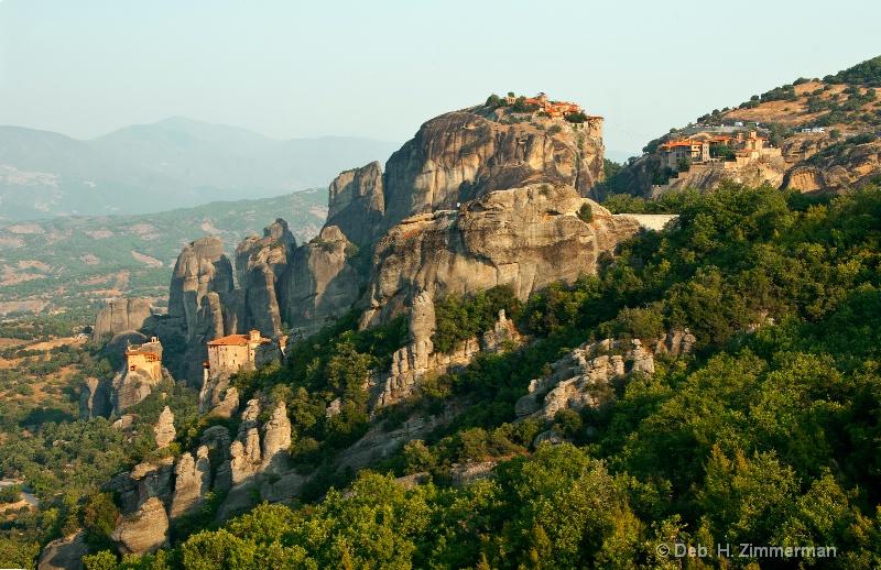 Mountain of Meteoran Monasteries