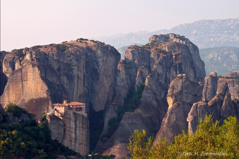 Sunrise on the Holy Monastery of Roussanou