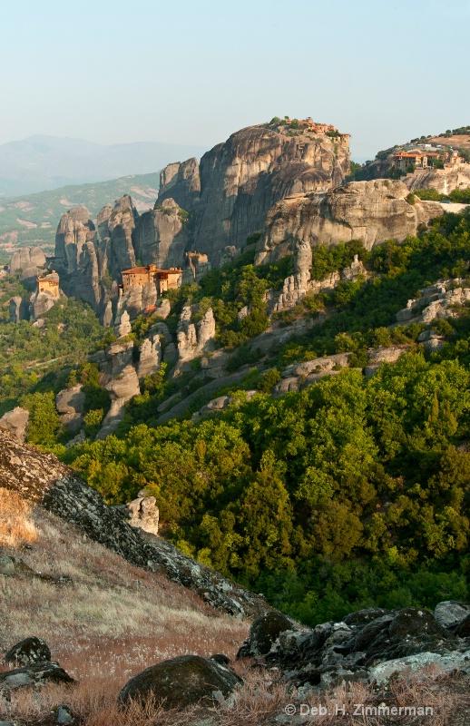 Over the Edge towards Meteoran Monasteries