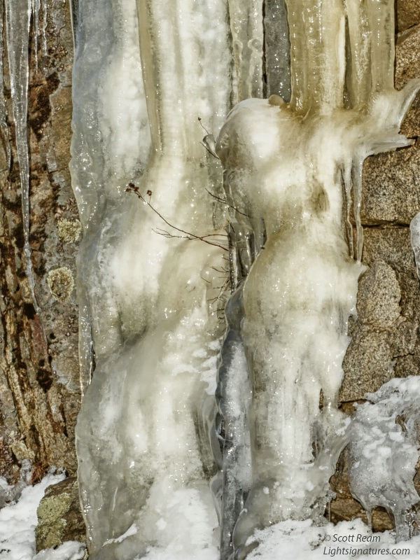 ice figurines at sergeant drive