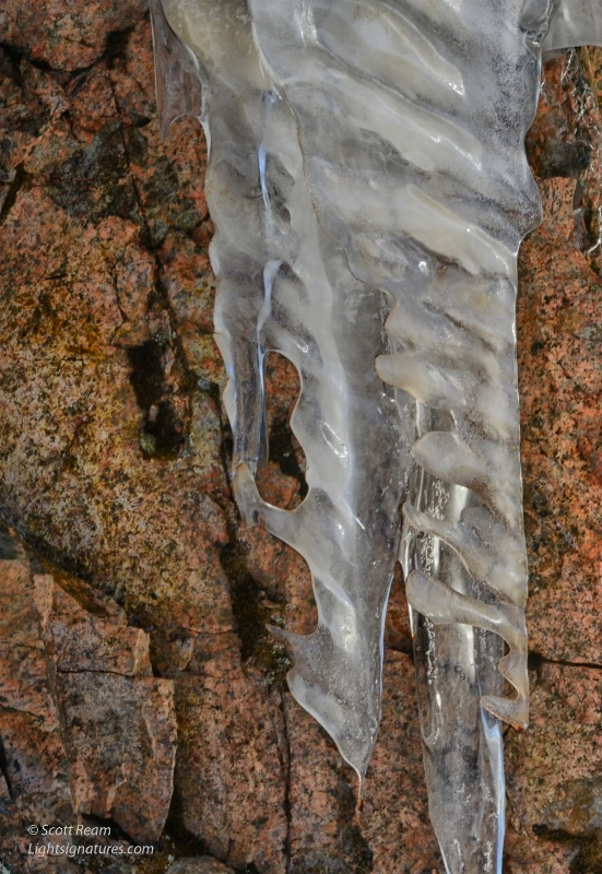 ice wall on sergeant drive