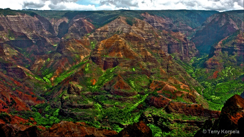 Grand Canyon of the Pacific, Waimea, Kauai