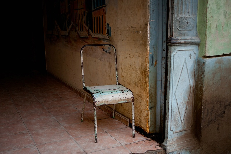 Chair in a Doorway, Havana