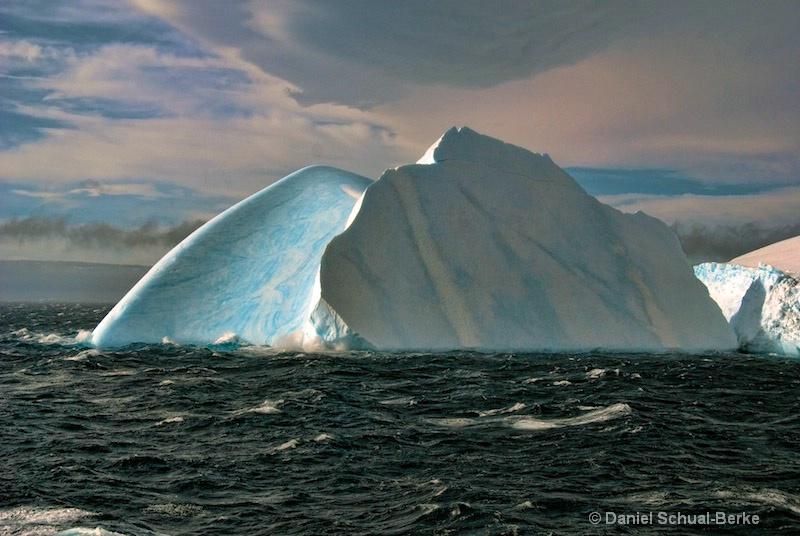 """""""Azure Berg In A Dark Sea"""""""