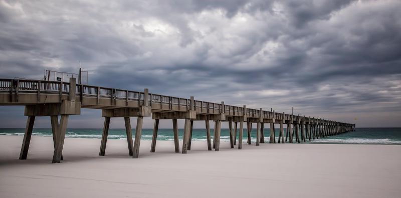 Pensacola Beach Pier - February