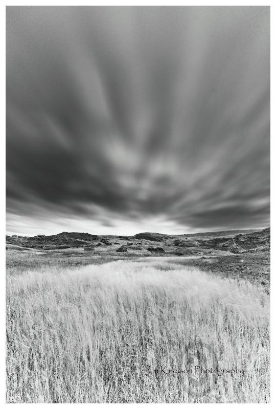 Grass Sky Wind