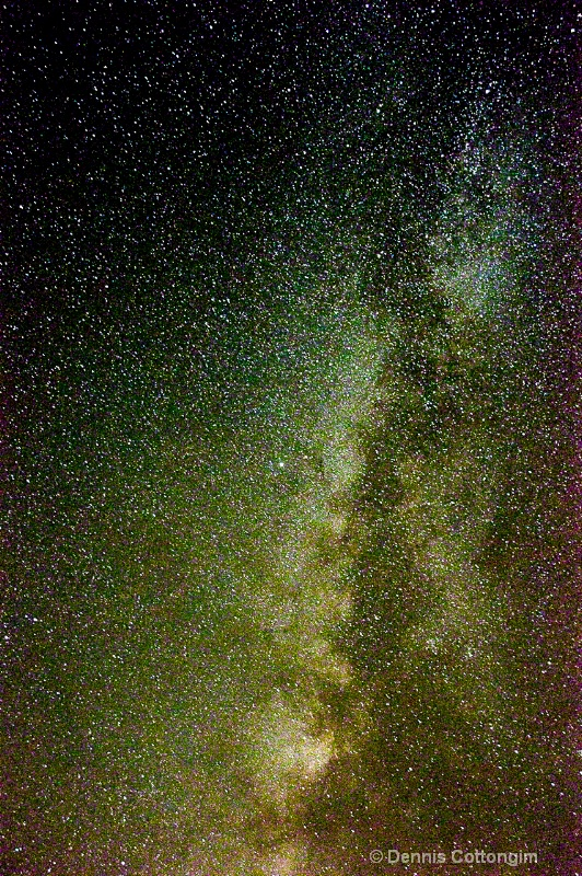 Milky Way at Wilkerson Pass, Colorado