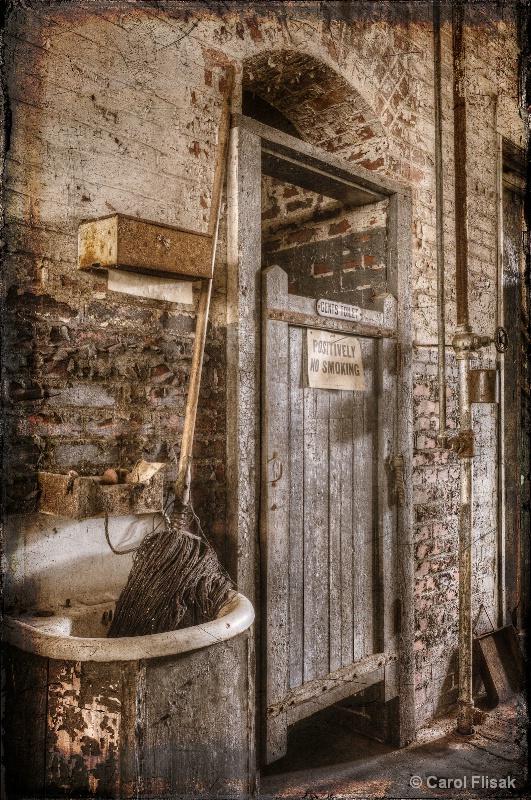 Positively No Smoking ~ Lonaconing Silk Mill