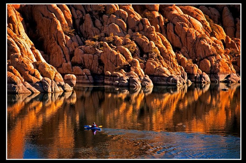 """""""Lone Kayaker"""""""