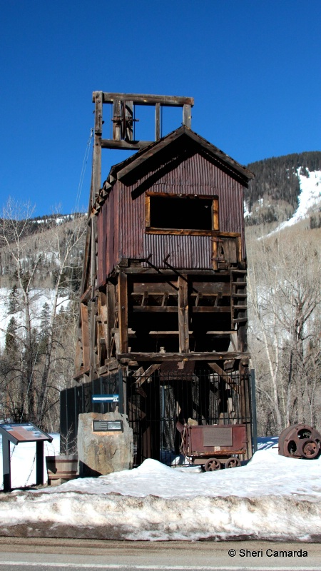 Atlantic Cable Mine, Rico, Colorado