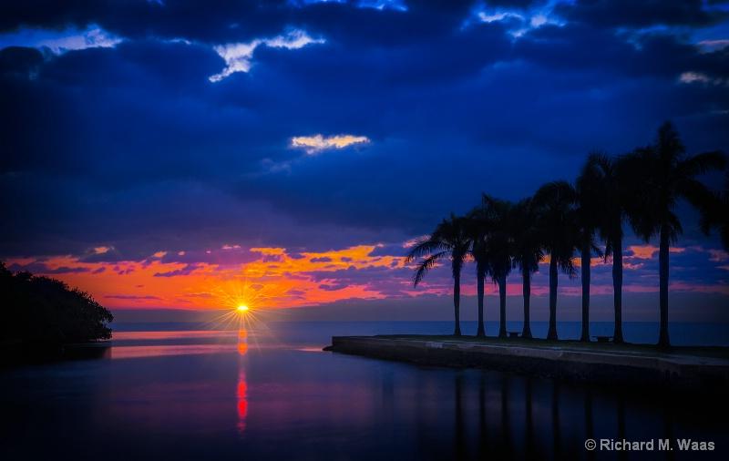 Blue Sky at Dawn
