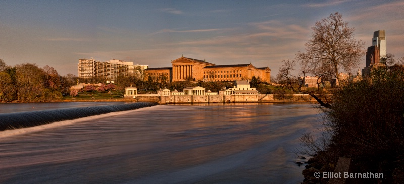 Dusk at the Art Museum