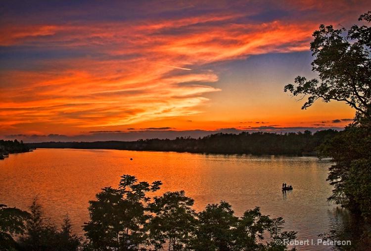 Lk Hickory sunset