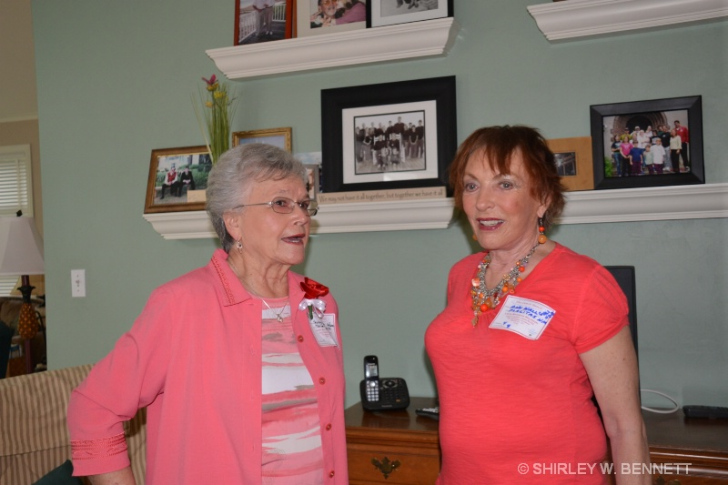 SHIRLEY RAKER AND ANN WALL