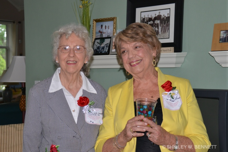 BETTY LENK AND MARTHA ANN ATKINSON