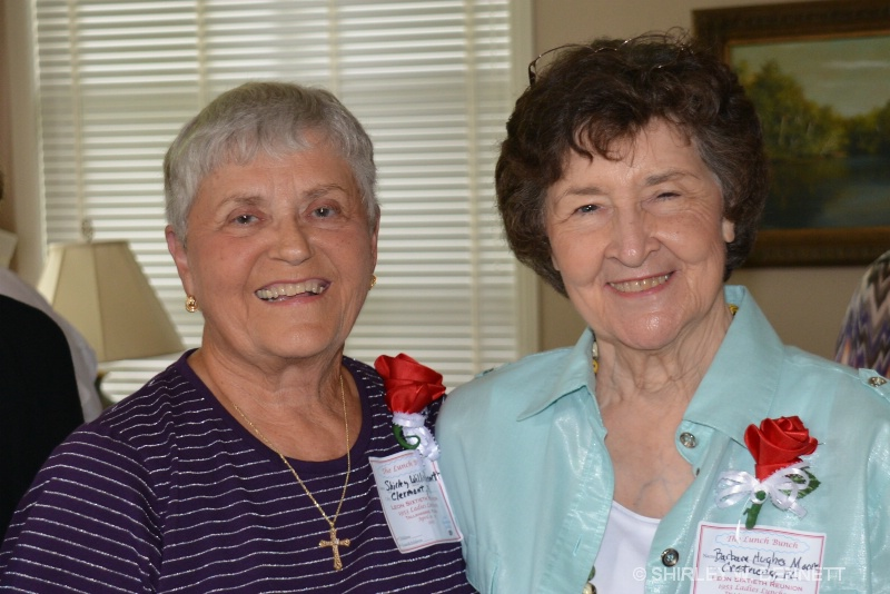 SHIRLEY WILLIS AND BARBARA HUGHES
