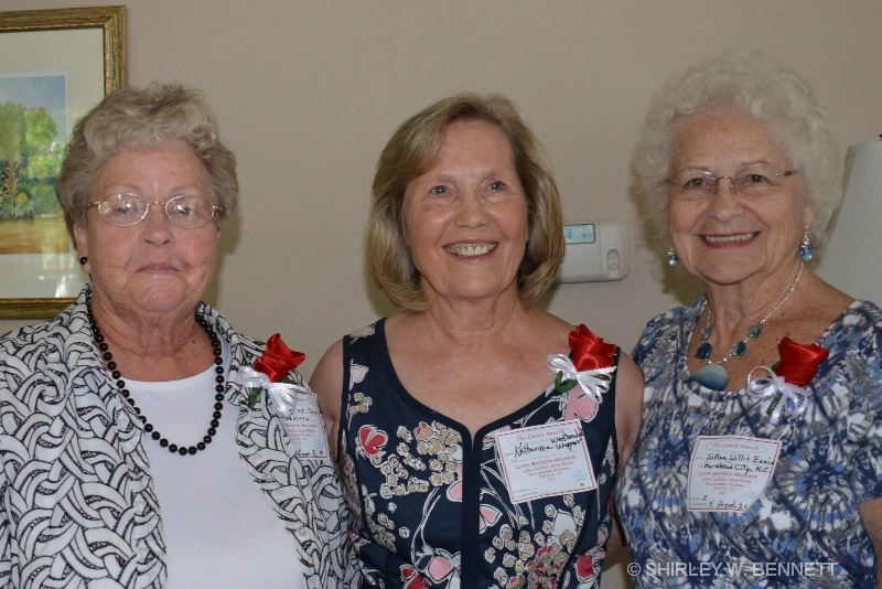 MARGUERITE PAUL, KATHRYN WESTINDICK, JOANN WILLIS
