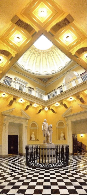 Virginia State Capitol Rotunda Vertical Pan
