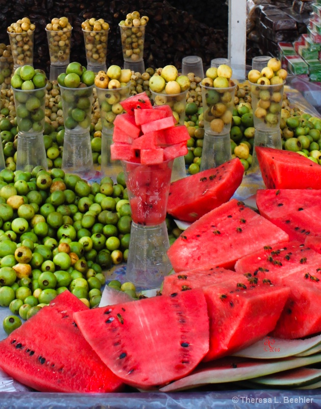Fruit Street Vendor