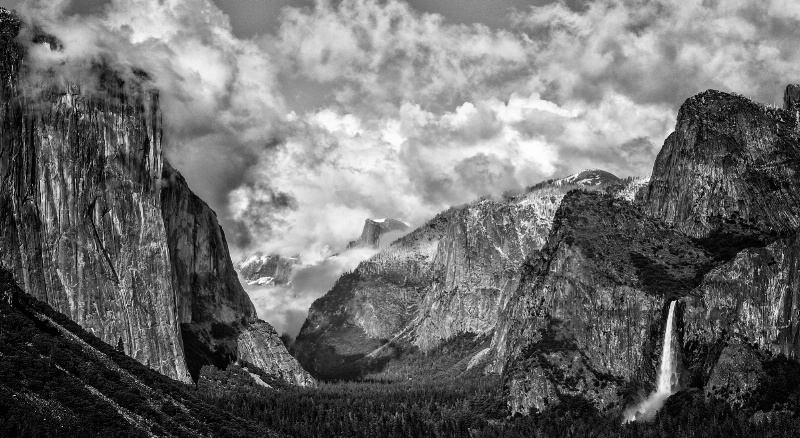 Clearing Storm - Tunnel View - Yosemite