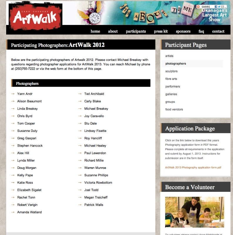 Artwalk 2012