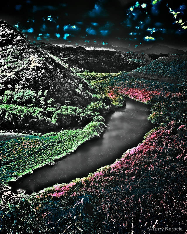hawaii infra-red shot