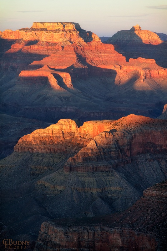 Late Light at Grand Canyon