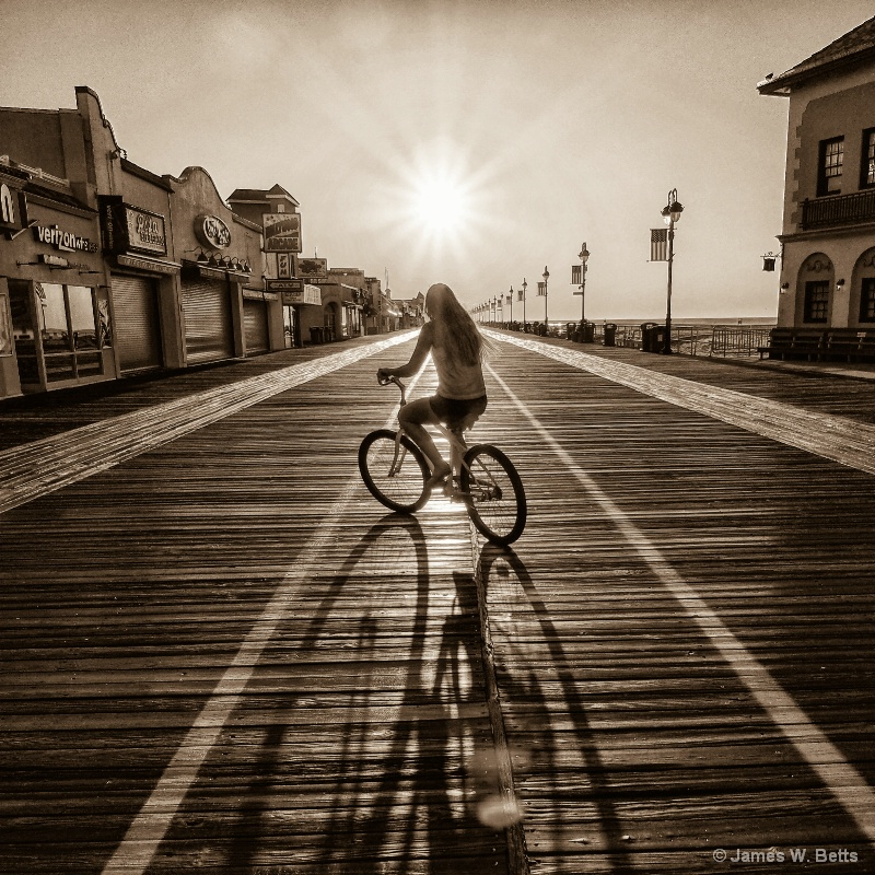 Boardwalk Bikeride