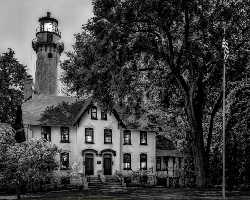 Grosse Point Light Station