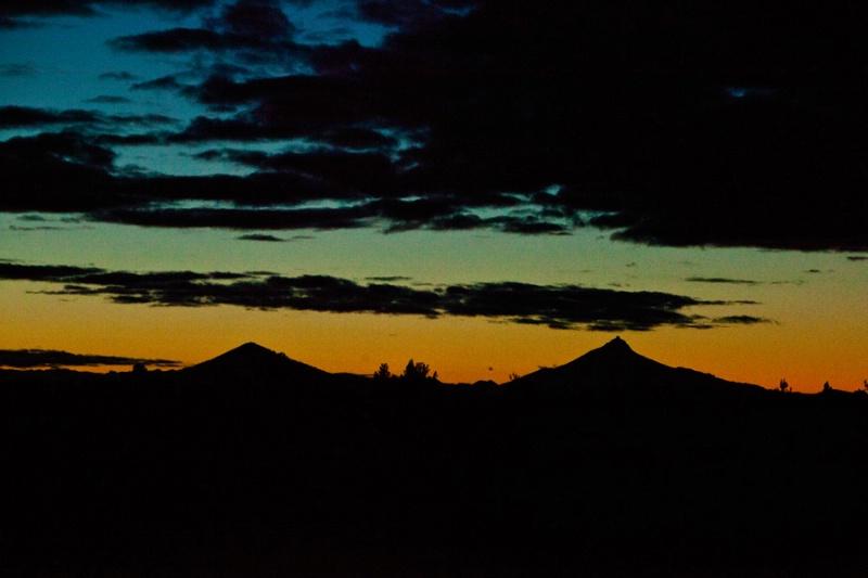 4 Peaks sunset