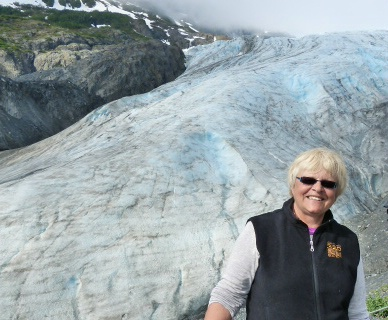 Bobi at Glacier