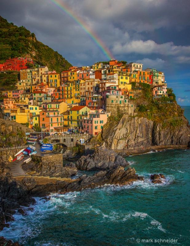 Cinque Terre Rainbow
